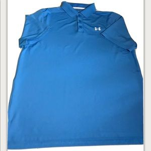 Under Armour Heat Gear Mens Polo Size Large Mens